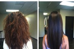 Learn how to maintain and style your hair after a keratin treatment